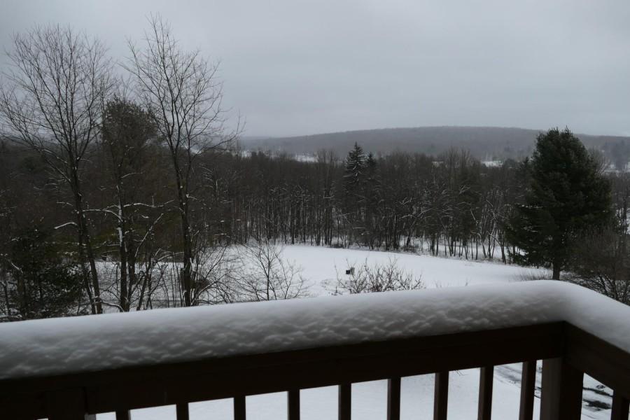 balcony view - winter