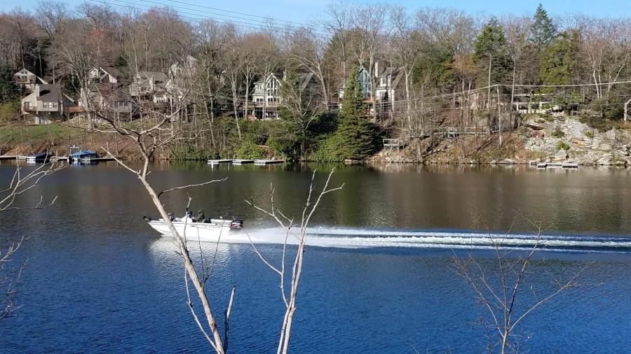 boating on Deep Creek
