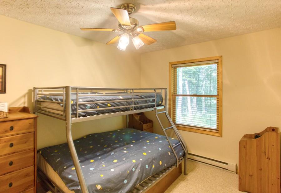 Bedroom 3 Bunk. 2 Twin, 1 Full