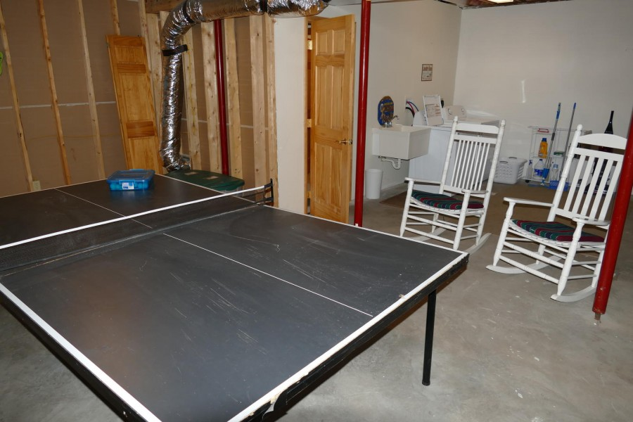 ping pong and seating