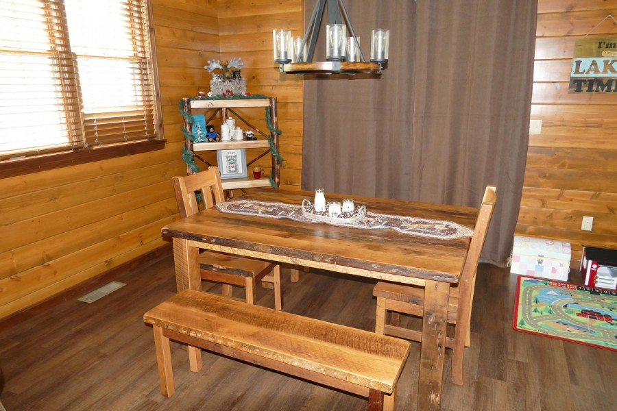 Dining Table with patio door