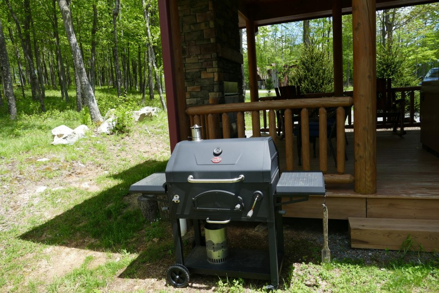 Grill area out back