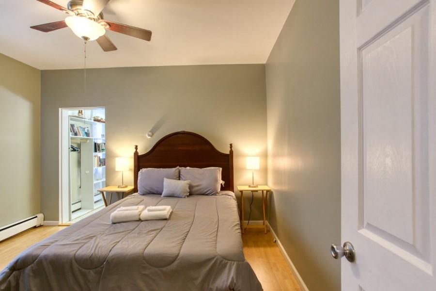 Bedroom 1 - Queen. upstairs