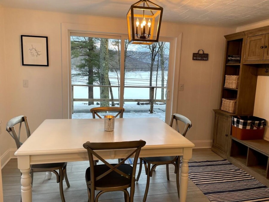 Dining Table from kitchen