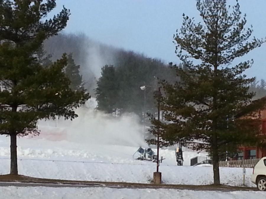 WISP dawn snowmaking