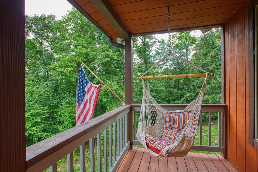 front porch hammock