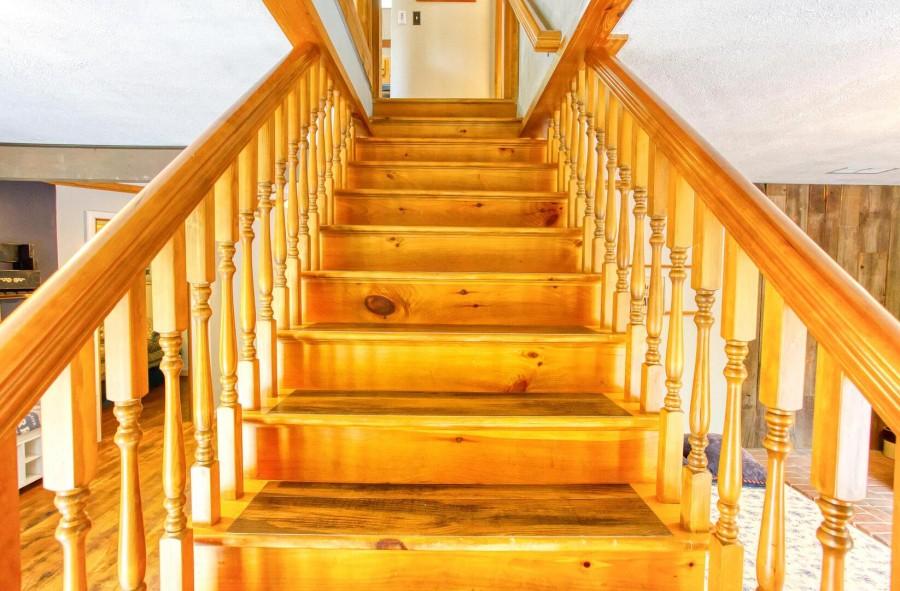 steps to upper level