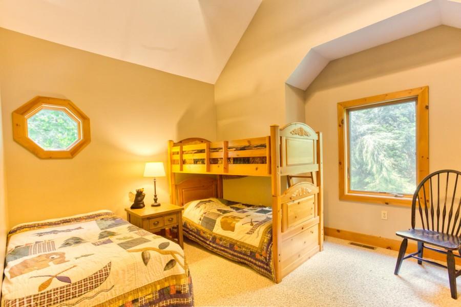 Bedroom 4 - bunk room. Upper level