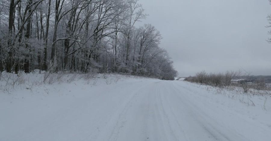 Community Road - winter